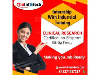 Job Oriented Internship Based Clinical Research Training