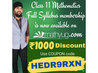 Full Syllabus of Class 11 Maths